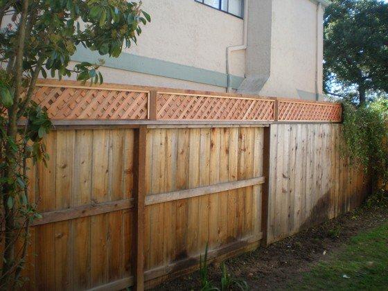 Post Repairs Amp Add Lattice Peninsula Fence